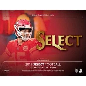 2019 Panini Select Football Hobby 12 Box Case