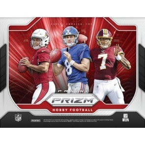 2019 Panini Prizm Football Hobby 12 Box Case