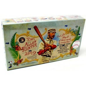 2019 Topps Allen & Ginter Baseball Hobby 12 Box Case