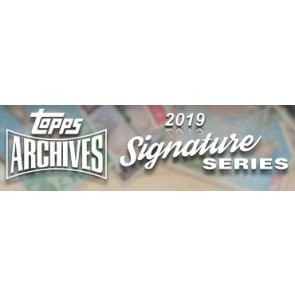 2019 Topps Archives Signature Series Retired Player Ed Baseball 20 Box Case