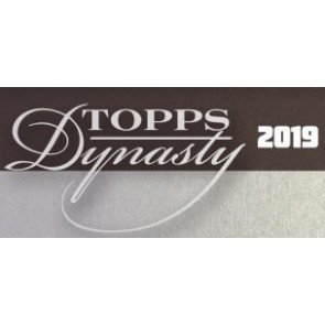 2019 Topps Dynasty Baseball Hobby Box