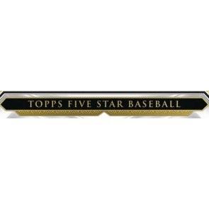 2019 Topps Five Star Baseball Hobby 8 Box Case