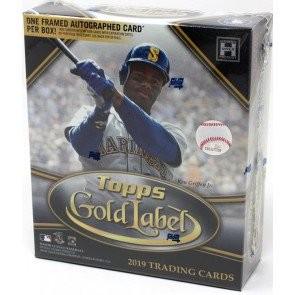 2019 Topps Gold Label Baseball Hobby 16 Box Case
