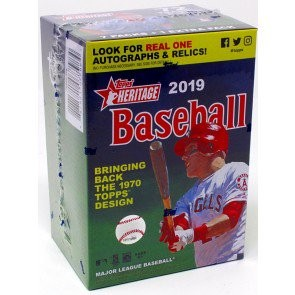 2019 Topps Heritage Baseball Blaster 16 Box Case