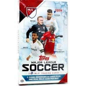 2019 Topps MLS Soccer Hobby 12 Box Case