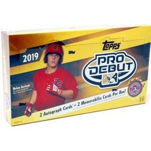 2019 Topps Pro Debut Baseball Hobby 12 Box Case