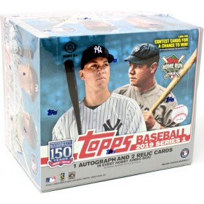 2019 Topps Series 1 Baseball Jumbo 6 Box Case