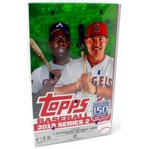 2019 Topps Series 2 Baseball Hobby 12 Box Case + 12 Silver Packs