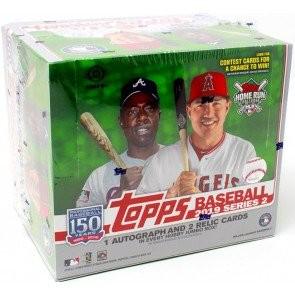 2019 Topps Series 2 Baseball Jumbo 6 Box Case