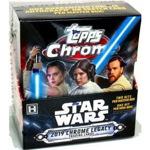 2019 Topps Star Wars Chrome Legacy Hobby Box