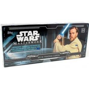2019 Topps Star Wars Masterwork Hobby 8 Box Case