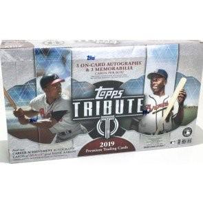 2019 Topps Tribute Baseball Hobby 6 Box Case