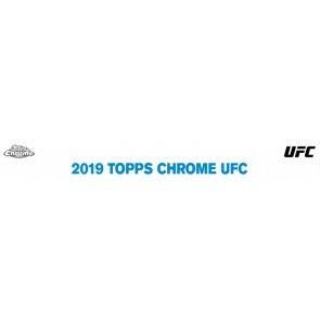 2019 Topps UFC Chrome Hobby 12 Box Case