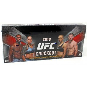 2019 Topps UFC Knockout Hobby 12 Box Case