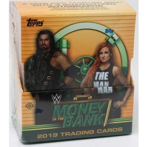 2019 Topps WWE Money in the Bank Hobby 8 Box Case