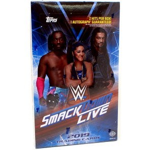 2019 Topps WWE Smackdown Hobby 8 Box Case