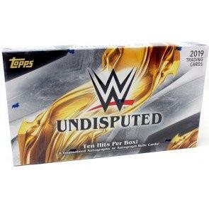 2019 Topps WWE Undisputed Hobby Box