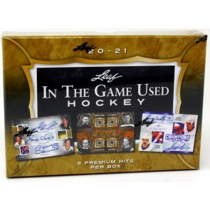 2020/21 Leaf In The Game (ITG) Game Used Hockey Box