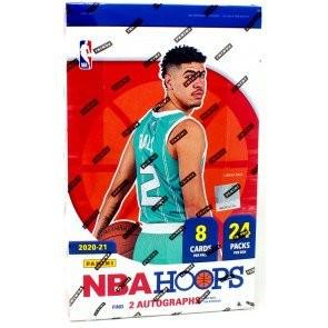 2020/21 Panini NBA Hoops Basketball Hobby 20 Box Case