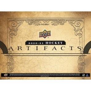 2020/21 Upper Deck Artifacts Hockey Hobby 10 Box Case
