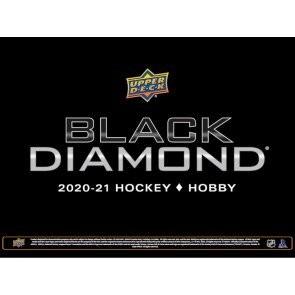 2020/21 Upper Deck Black Diamond Hockey Hobby 5 Box Case