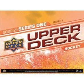 2020/21 Upper Deck Series 1 Hockey Hobby 12 Box Case
