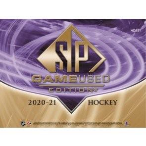 2020/21 Upper Deck SP Game Used Hockey Hobby 10 Box Case