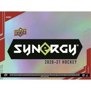 2020/21 Upper Deck Synergy Hockey Hobby 10 Box Case