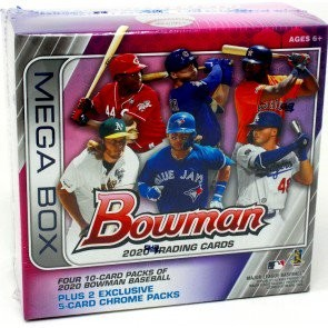 2020 Bowman Mega Box Baseball