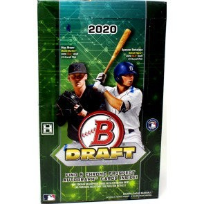 2020 Bowman Draft Baseball Super Jumbo 6 Box Case