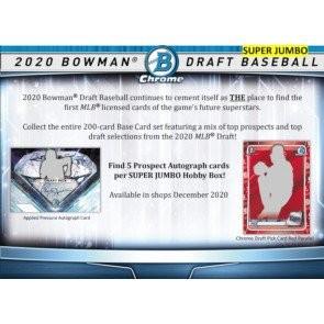 2020 Bowman Draft Baseball Super Jumbo Box