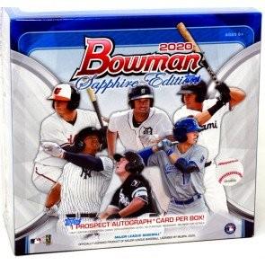 2020 Bowman Baseball Sapphire Edition Box