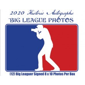 2020 Historic Autographs Big League Photos Autograph Edition Baseball 12 Box Case