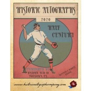 2020 Historic Autographs Half Century Originals Baseball Box