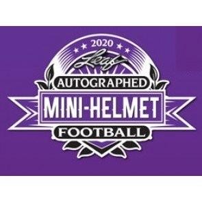 2020 Leaf Autographed Mini Helmet Football Box