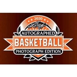 2020 Leaf Autographed Basketball Photograph Edition Box