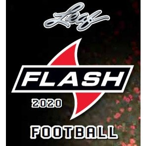 2020 Leaf Flash Football Hobby 12 Box Case