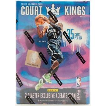 2019/20 Panini Court Kings Basketball 7-Pack Blaster Box