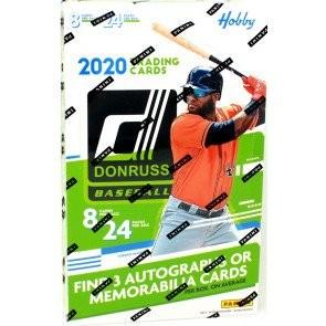 2020 Panini Donruss Baseball Hobby 16 Box Case