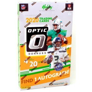 2020 Panini Donruss Optic Football Hobby 12 Box Case