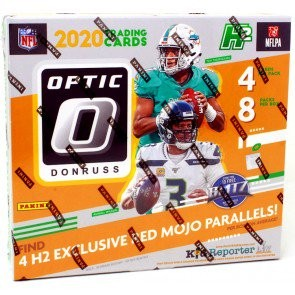 2020 Panini Donruss Optic Football Hobby Hybrid Box