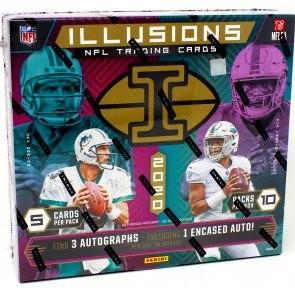 2020 Panini Illusions Football Hobby 16 Box Case