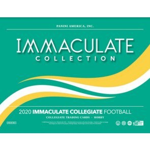 2020 Panini Immaculate Collegiate Football Hobby 5 Box Case