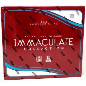 2020 Panini Immaculate Football Hobby 6 Box Case