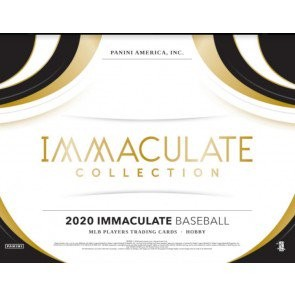 2020 Panini Immaculate Baseball Hobby Box