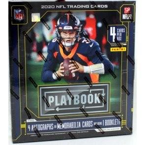 2020 Panini Playbook Football Hobby 16 Box Case