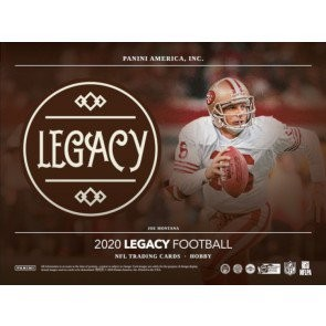 2020 Panini Legacy Football Hobby 24 Box Case
