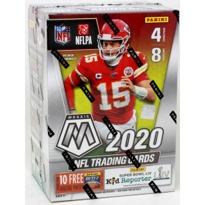 2020 Panini Mosaic Football Blaster 20 Box Case