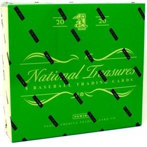 2020 Panini National Treasures Baseball Hobby 4 Box Case