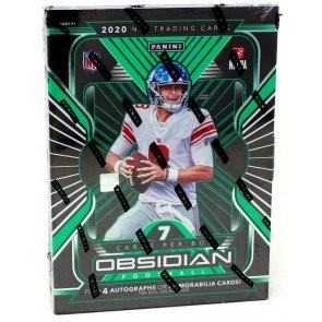 2020 Panini Obsidian Football Hobby 12 Box Case